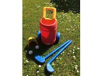 Little Tikes Golf Club Putting Set Outdoor Garden Toy
