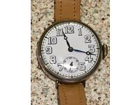 Vintage Silver Trench Watch