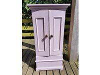 Small Quirky Purple Cupboard
