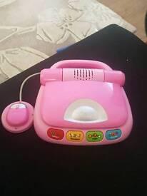 Vtech Pink Laptop