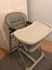 Mamas and papas high chair adjustable!!
