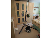 BBE 425 Punchbag Stand with Dodge Ball and Anchor Bag