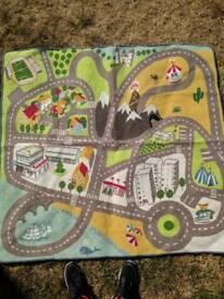 Colourful children's play mat / rug