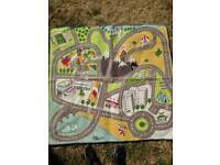 Colourful children's play mat / rug