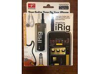 Multimedia iRig Guitar interface