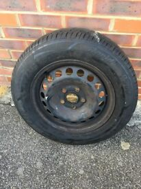 Spare tyre with Wheel Rim - 195/65R15 91H