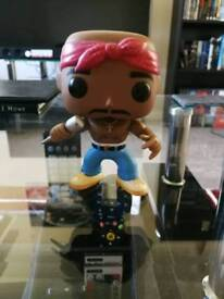 Funko pop rock Tupac, rare, vaulted #19