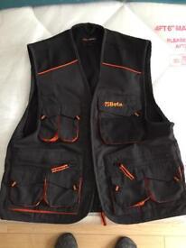 Beta tools work jacket body warmer