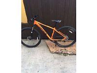 Orange Clockwork 100 29er. Frame size M.