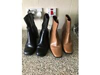 2 x pairs of boots