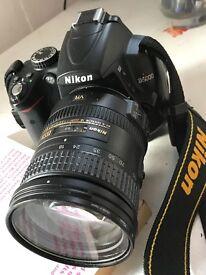Nikon D D5000 12.3MP Digital SLR Camera - Black (Kit w/ Nikon Nikkor AF-S DX.
