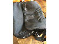 Oyster black bag