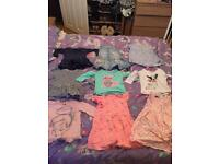Baby & Toddler Clothing 12-18 Months Girls Bundle 14 Items.