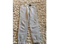 George grey joggers age 5-6 with tags