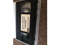 1998 Auto Trader RAC British Touring Car Chanpionship BTCC VHS Tape
