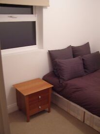 NEW CROSS GATE-OWN FLOOR FOR GAY FRIENDLY PERSON -OWN DBL BEDROOM/BATHROOM AND LIVING ROOM £680