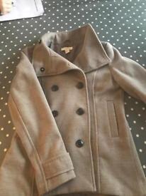 H&M coat size 10-12