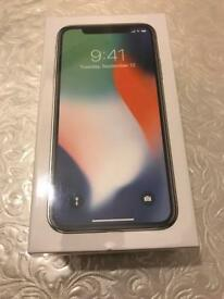 iPhone X (10) - Sealed With John Lewis Receipt (2 year warranty) - 64GB - Silver