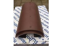 Manthorpe Dry Ridge Roof Tiles Brand New
