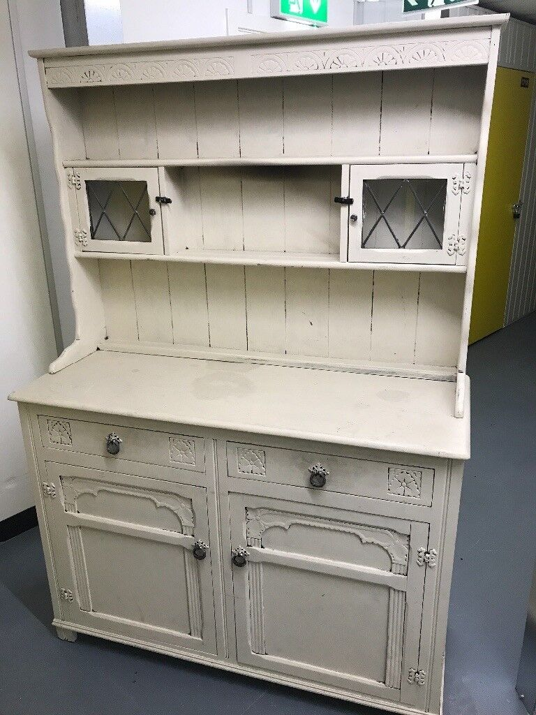 Dresser cabinet - shabby chic, upcycling project