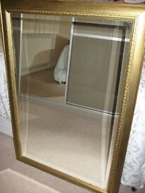 Large Framed Mirror - perfect condition