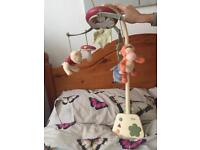 Baby musical mobile in clean and very good condition