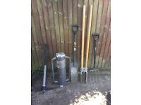 Fence post tools
