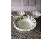 6 dinner bowls £10 MONEY GOES TO CHARITY!!