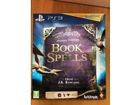 Harry Potter Book of Spells (inc. Wonderbook, Move Controller, Eye Camera & Book of Spells Game) PS3
