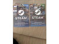 £60 Steam Voucher for £50