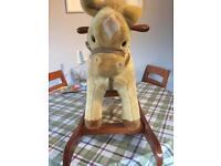 Child's/toddler rocking horse with sound