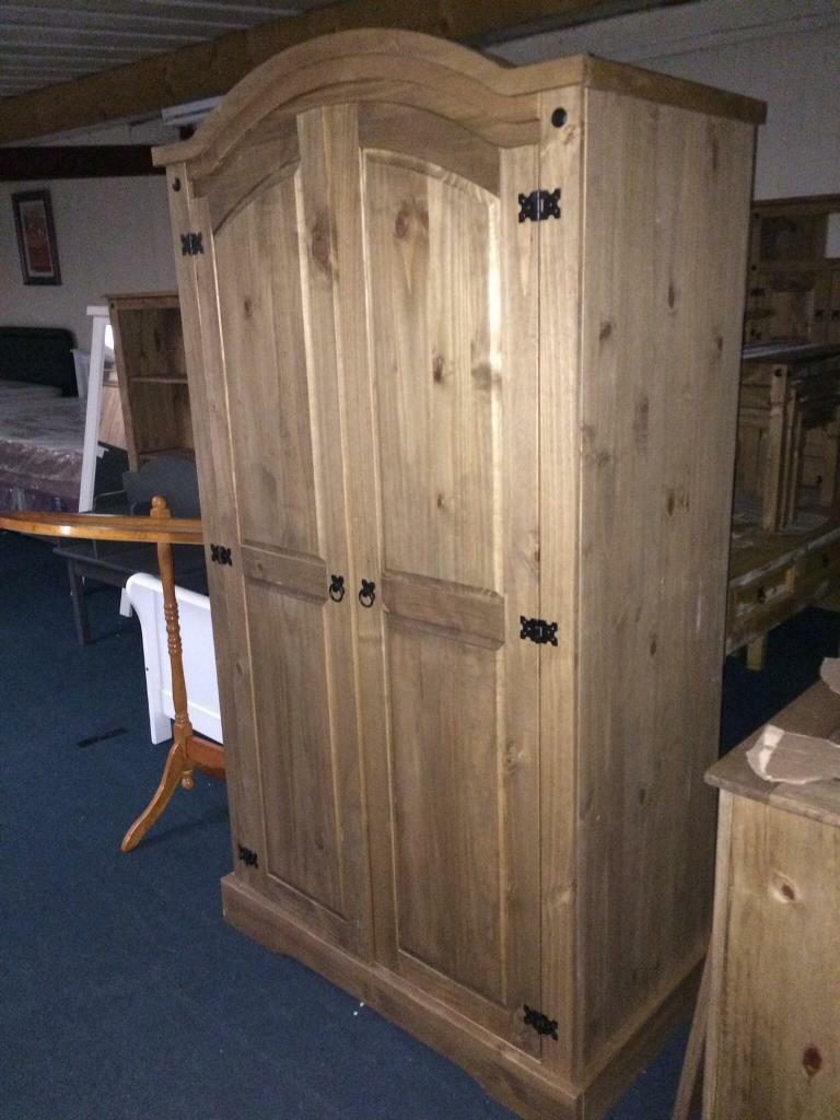 New Mexican pine wardrobe