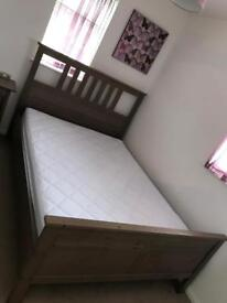 Double bed & mattress for sale. Excellent condition.