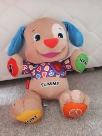 Fisher price talking/singing teddy