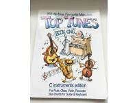 Top tunes book one C instruments