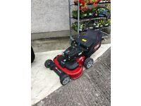 "Toro Timemaster 36"" Twin cut lawnmower."