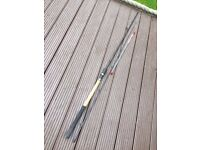 GARBOLINO ROCKET PICKER 9ft FEEDER FISHING ROD / THREE TIPS / EXCELLENT CONDITION.