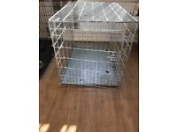 2 door medium/large dog crate