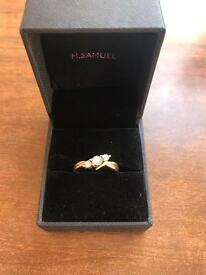 9ct Diamond ring engagement