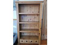 Next solid wood bookcase/unit