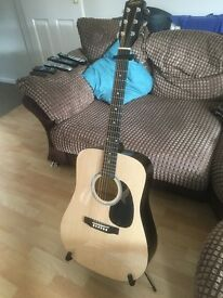 Fender Squire SA-105 Acoustic Guitar