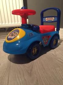 Paw Patrol ride along