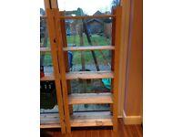 Wooden shelving - ideal for shed or garage