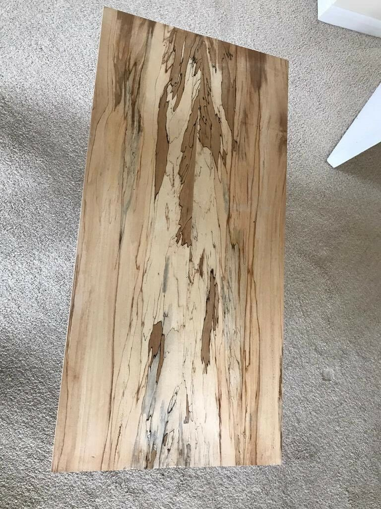 wooden coffee table like new