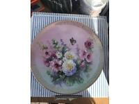W.J.George China plates x6