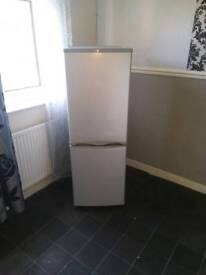 Fridge Freezer In Grey Colour Very Reasonable Price