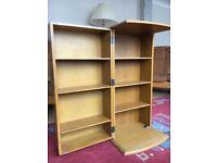 Storage cabinet, wood for DVDs, CDs & Videos