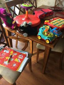 Selection of pre school toys bundle.