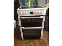 Beko double oven electric used
