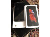 Apples IPhone 6s Plus black Unlocked very good condition